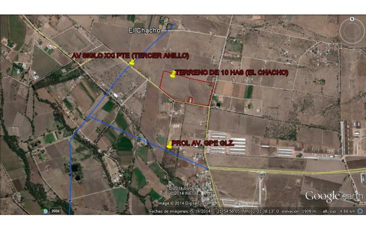 Foto de terreno comercial en venta en  , primo verdad, aguascalientes, aguascalientes, 1056815 No. 02