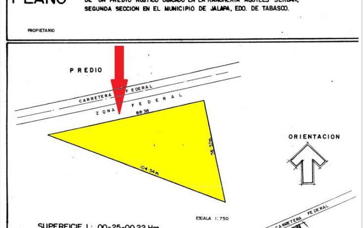 Foto de terreno comercial en venta en principal 100, centro delegacional 6, centro, tabasco, 1588596 no 01