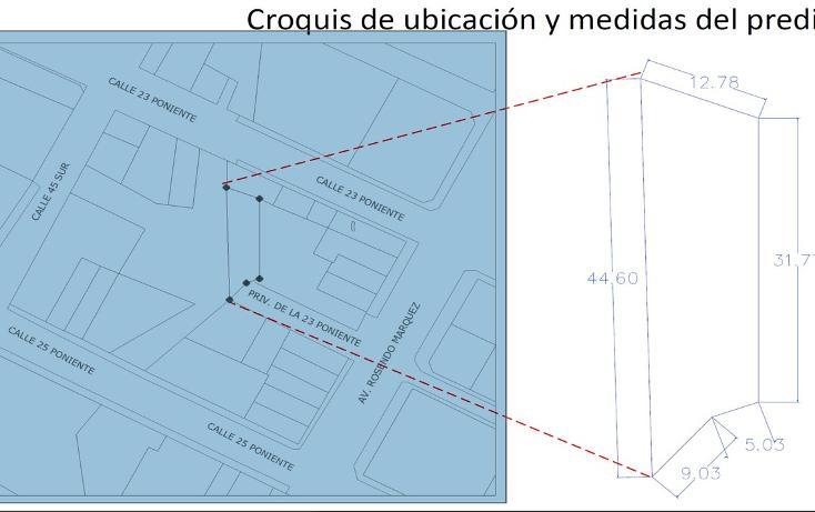 Foto de terreno habitacional en venta en privada 23 poniente , belisario domínguez, puebla, puebla, 2724363 No. 05