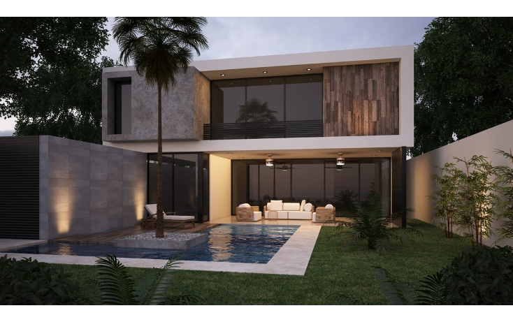 Foto de casa en venta en privada allegra residencial , algarrobos desarrollo residencial, mérida, yucatán, 1631640 No. 02