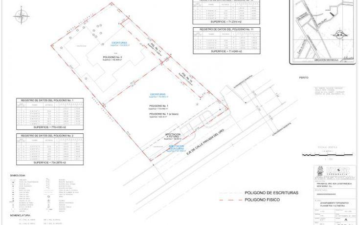 Foto de terreno habitacional en venta en privada del uro, san gabriel, monterrey, nuevo león, 2040372 no 01