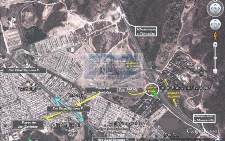 Foto de terreno habitacional en venta en  6, elías zamora verduzco, manzanillo, colima, 1652239 No. 01