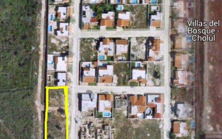 Foto de terreno habitacional en venta en, privada villa cholul, mérida, yucatán, 1685188 no 01