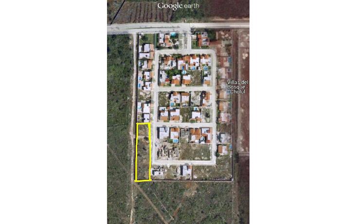 Foto de terreno habitacional en venta en  , privada villa cholul, m?rida, yucat?n, 1685188 No. 01