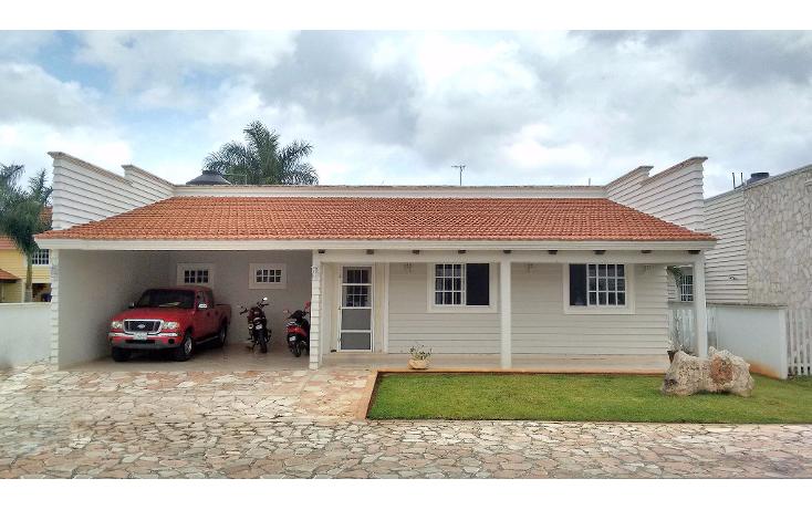 Foto de casa en venta en  , privada villa cholul, m?rida, yucat?n, 2026460 No. 01