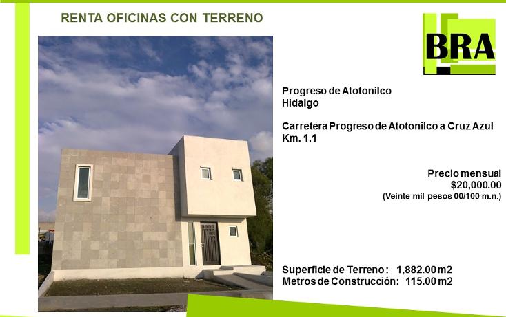 Foto de casa en renta en  , progreso, atotonilco de tula, hidalgo, 1517901 No. 01