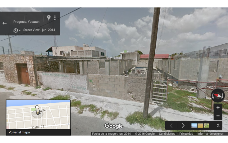 Foto de terreno habitacional en venta en  , progreso de castro centro, progreso, yucat?n, 1056187 No. 02