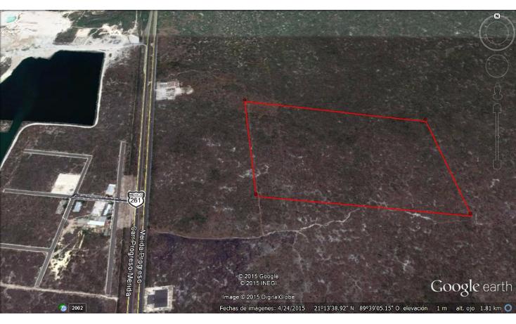 Foto de terreno habitacional en venta en  , progreso de castro centro, progreso, yucatán, 1410691 No. 01