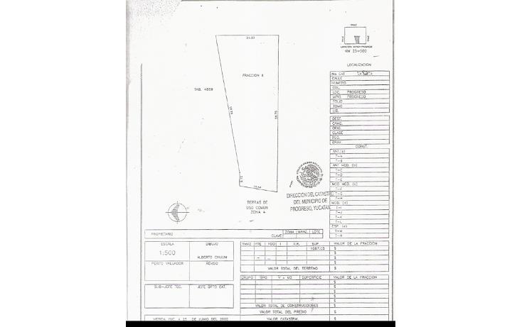 Foto de terreno habitacional en venta en  , progreso de castro centro, progreso, yucatán, 1448695 No. 10