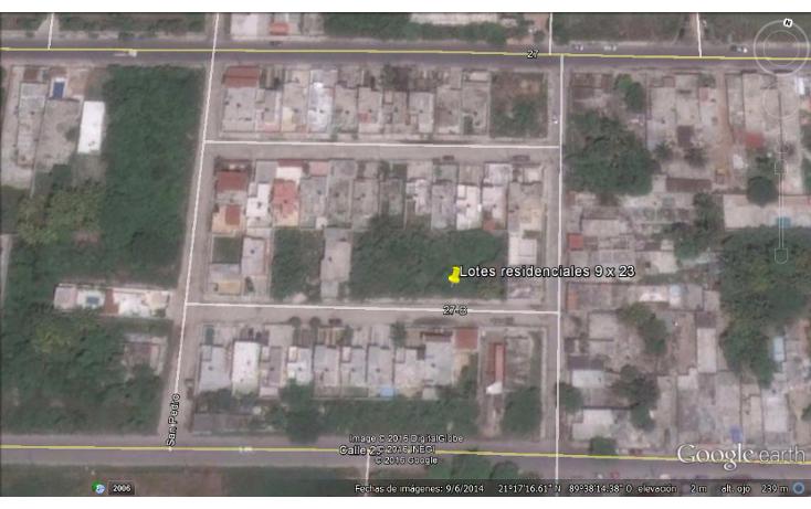Foto de terreno habitacional en venta en  , progreso de castro centro, progreso, yucat?n, 1733746 No. 01