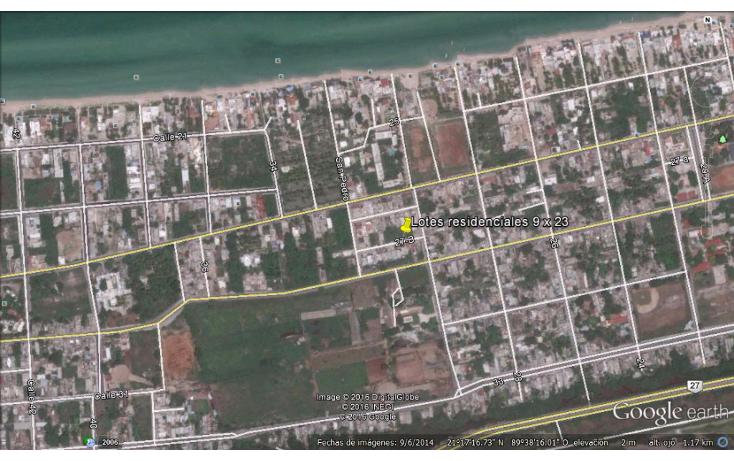 Foto de terreno habitacional en venta en  , progreso de castro centro, progreso, yucat?n, 1733746 No. 02