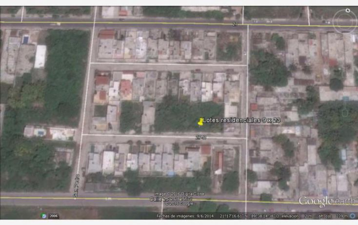 Foto de terreno habitacional en venta en, progreso de castro centro, progreso, yucatán, 1752866 no 01