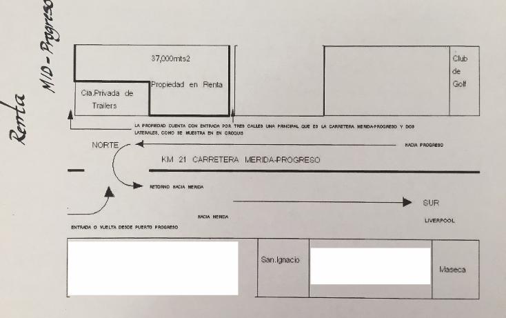 Foto de terreno comercial en renta en  , progreso de castro centro, progreso, yucat?n, 1756384 No. 02