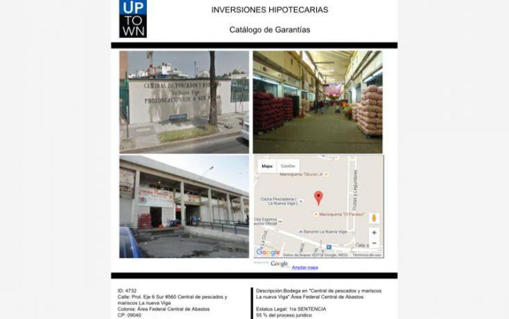 Foto de local en venta en prol eje 6 sur central de pescados 560, ampliación el triunfo, iztapalapa, df, 1594422 no 01