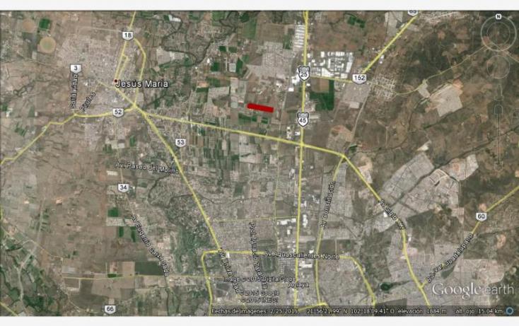 Foto de terreno habitacional en venta en prol ignacio zaragoza, alcázar, jesús maría, aguascalientes, 848263 no 01