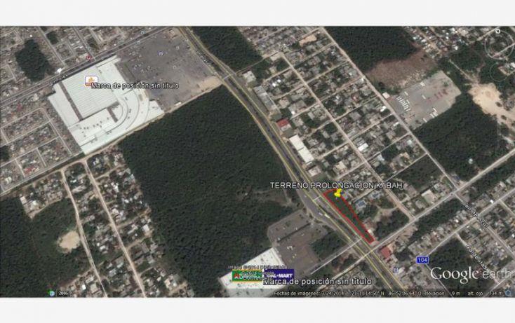 Foto de terreno comercial en venta en prolongacion avenida kabah, bahía real, benito juárez, quintana roo, 1702312 no 03