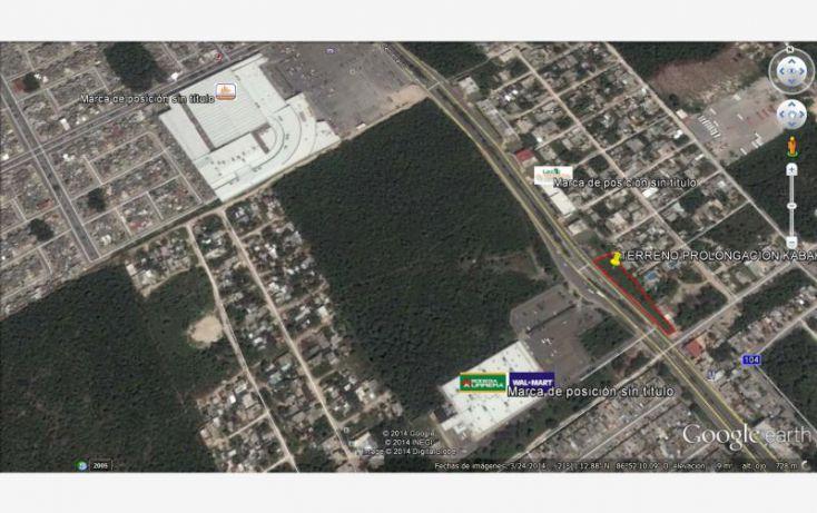 Foto de terreno comercial en venta en prolongacion avenida kabah, bahía real, benito juárez, quintana roo, 1702312 no 06