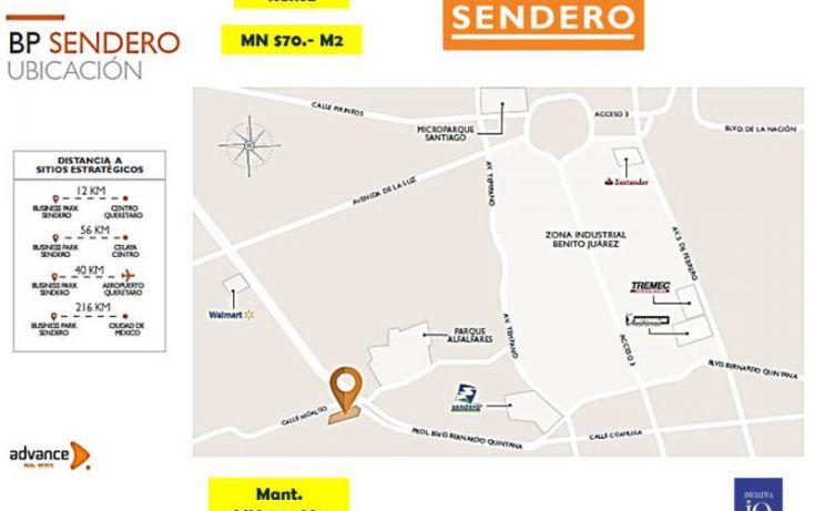 Foto de bodega en renta en prolongación boulevard bernardo quintana sendero 2481, centenario, querétaro, querétaro, 1581832 no 03