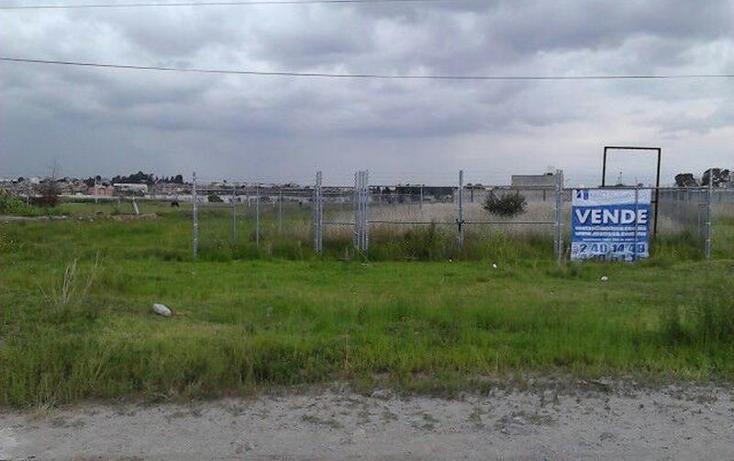 Foto de terreno habitacional en venta en  prolongación de la, chapulco, puebla, puebla, 499122 No. 01