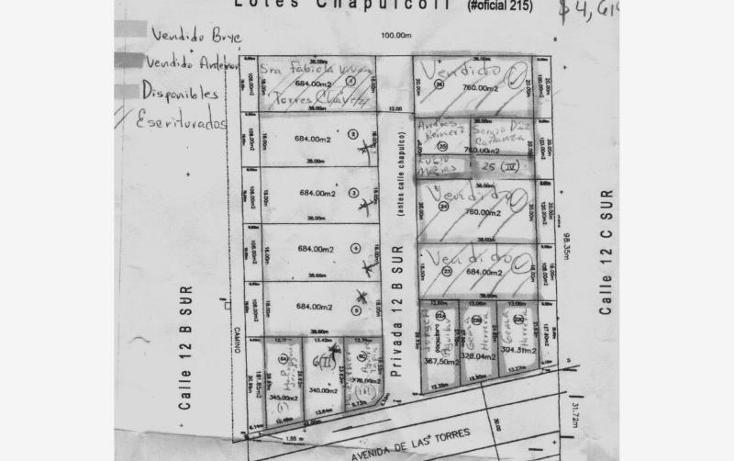 Foto de terreno habitacional en venta en  prolongación de la, chapulco, puebla, puebla, 499122 No. 02