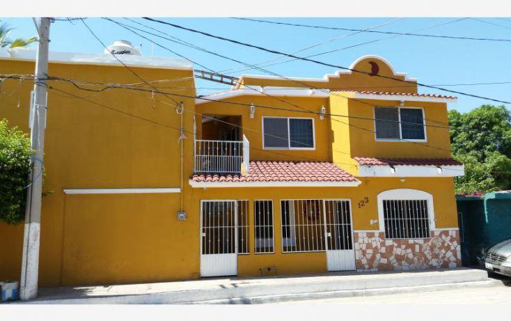 Foto de casa en venta en ptotampico y esquina con isla isabel 123, casa redonda, mazatlán, sinaloa, 1584290 no 01
