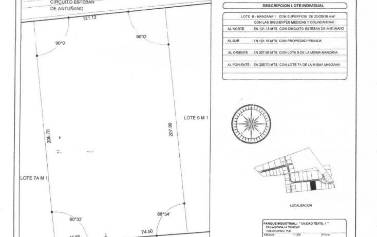 Foto de terreno industrial en venta en, puebla hermanos serdán, huejotzingo, puebla, 1087779 no 06