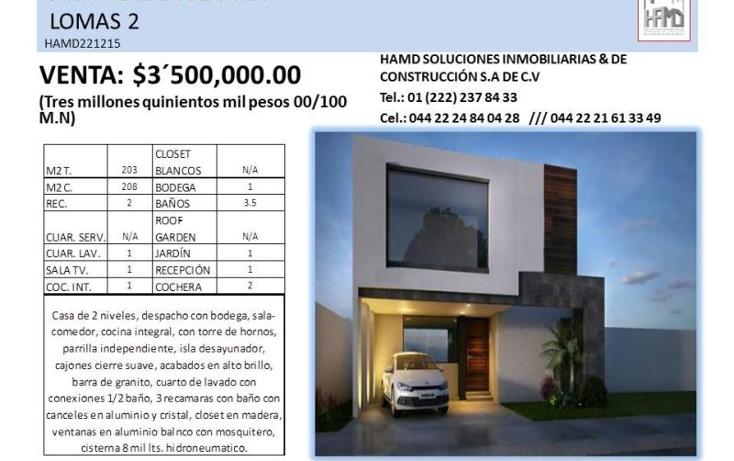Foto de casa en venta en  , puebla, puebla, puebla, 1580312 No. 02