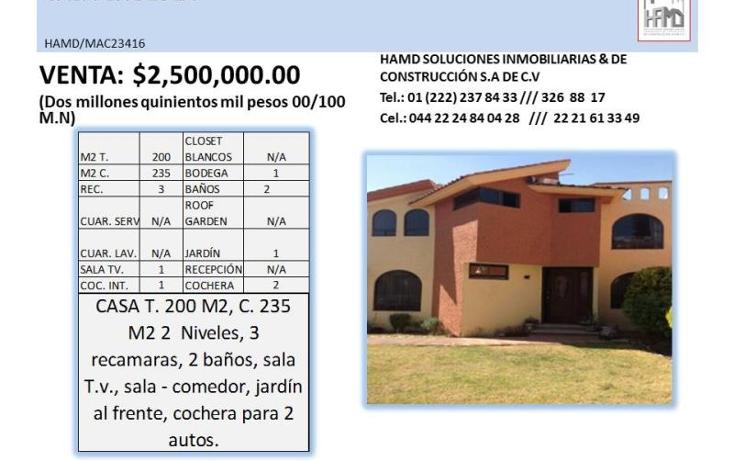 Foto de casa en venta en  , puebla, puebla, puebla, 1798070 No. 02
