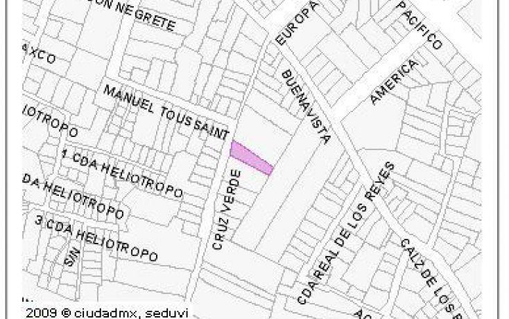 Foto de terreno habitacional en venta en, pueblo de los reyes, coyoacán, df, 2043539 no 03