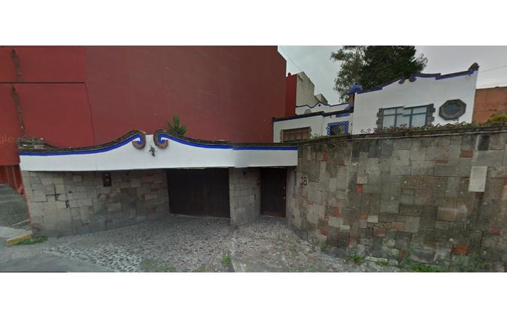Foto de terreno habitacional en venta en  , pueblo de los reyes, coyoacán, distrito federal, 2043539 No. 01