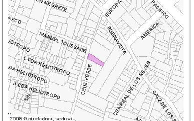 Foto de terreno habitacional en venta en  , pueblo de los reyes, coyoacán, distrito federal, 2043539 No. 03