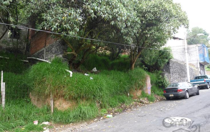 Foto de terreno habitacional en venta en  , pueblo nuevo alto, la magdalena contreras, distrito federal, 1710616 No. 03