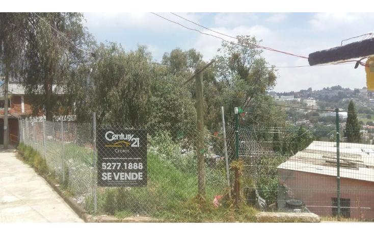 Foto de terreno habitacional en venta en  , pueblo nuevo alto, la magdalena contreras, distrito federal, 2030061 No. 01