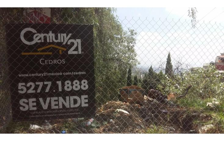 Foto de terreno habitacional en venta en  , pueblo nuevo alto, la magdalena contreras, distrito federal, 2030061 No. 02