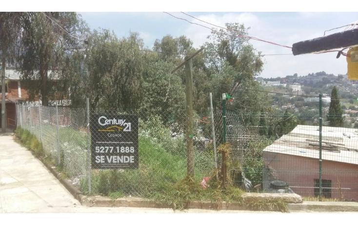 Foto de terreno habitacional en venta en  , pueblo nuevo alto, la magdalena contreras, distrito federal, 2030061 No. 05