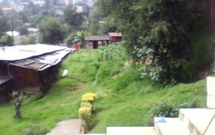Foto de terreno habitacional en venta en  , pueblo nuevo alto, la magdalena contreras, distrito federal, 990595 No. 02