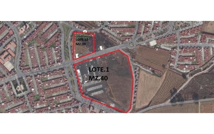 Foto de terreno habitacional en venta en  , pueblo nuevo, chalco, m?xico, 1349399 No. 01