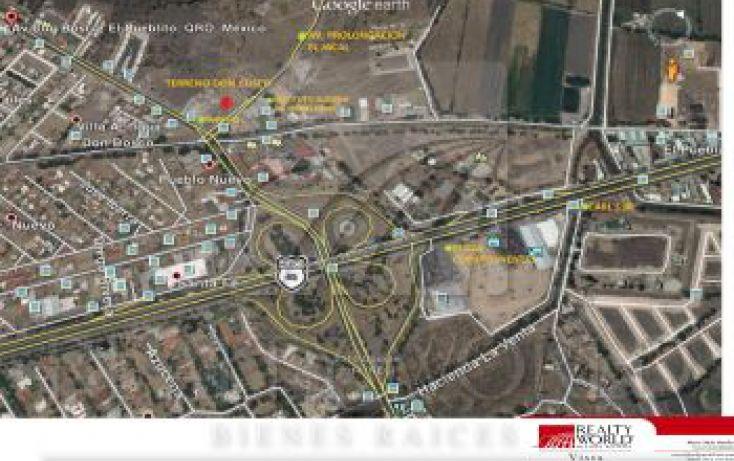 Foto de terreno habitacional en venta en, pueblo nuevo, corregidora, querétaro, 1034909 no 02