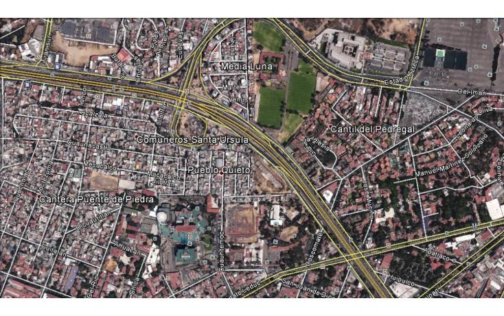Foto de terreno habitacional en venta en  , pueblo quieto, tlalpan, distrito federal, 1282255 No. 01