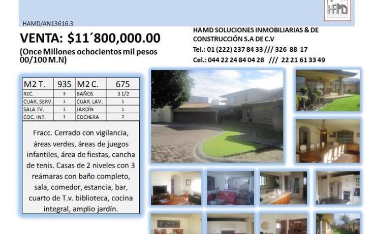 Foto de casa en venta en  , puerta de hierro, puebla, puebla, 2010192 No. 02