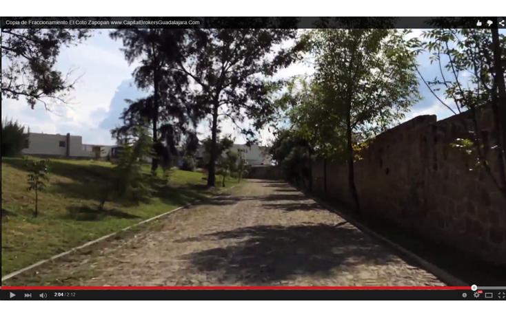 Foto de terreno habitacional en venta en  , puerta de hierro, zapopan, jalisco, 897437 No. 04