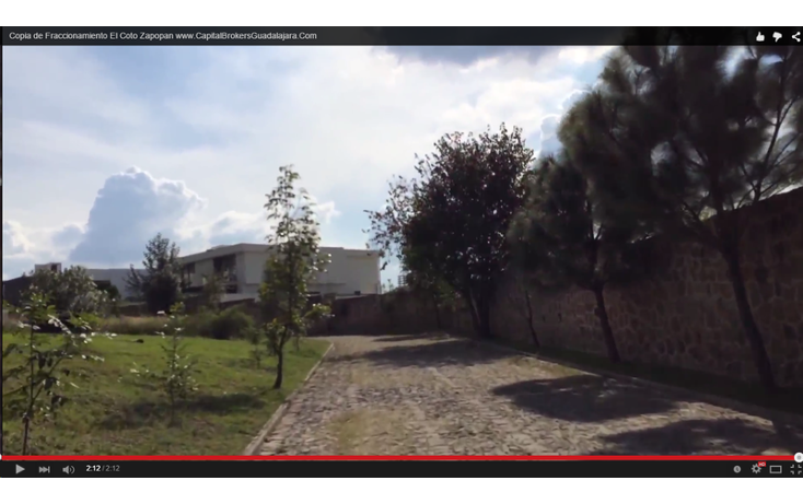 Foto de terreno habitacional en venta en  , puerta de hierro, zapopan, jalisco, 897437 No. 07