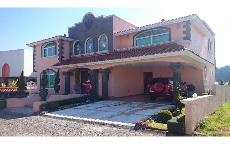 Foto de casa en venta en  , puerta del carmen, ocoyoacac, m?xico, 1240805 No. 01