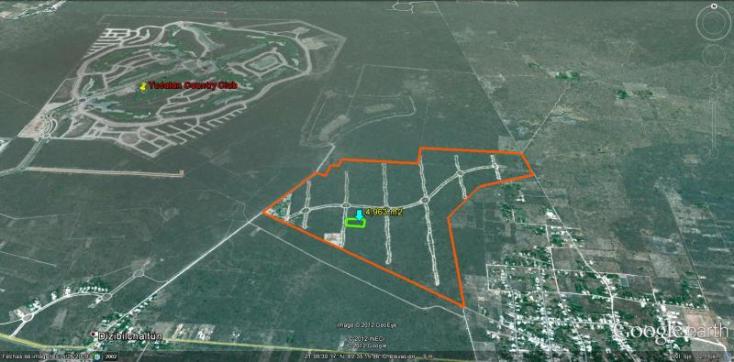 Foto de terreno habitacional en venta en  , chablekal, mérida, yucatán, 1753958 No. 04