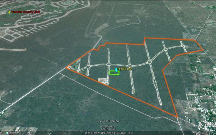 Foto de terreno habitacional en venta en puerta del mayab, chablekal, mérida, yucatán, 1753958 no 05