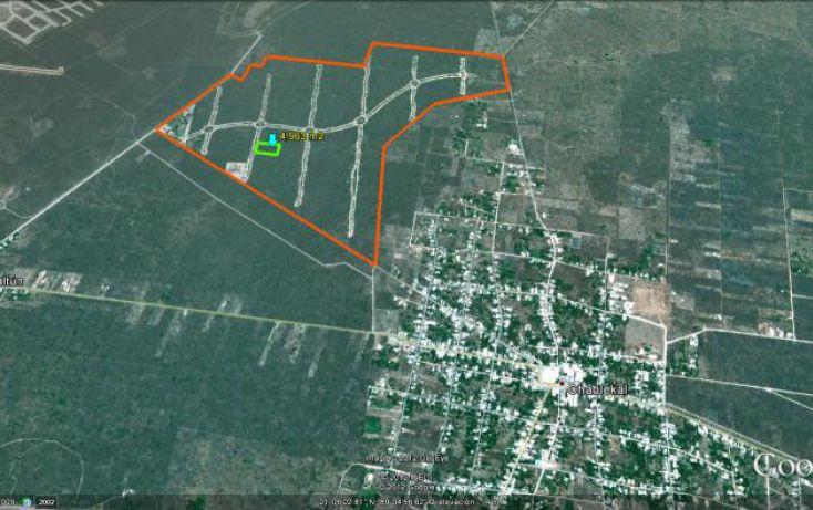Foto de terreno habitacional en venta en puerta del mayab, chablekal, mérida, yucatán, 1753958 no 06