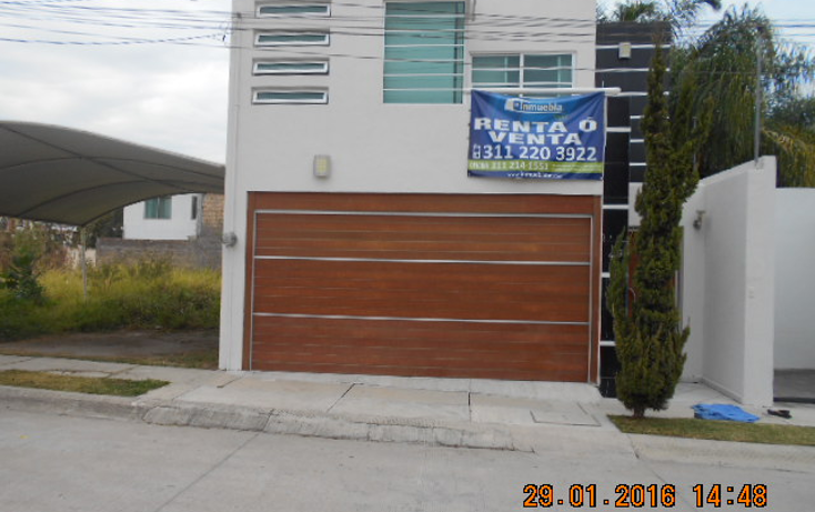 Foto de casa en renta en  , puerta del sol, xalisco, nayarit, 1617682 No. 01