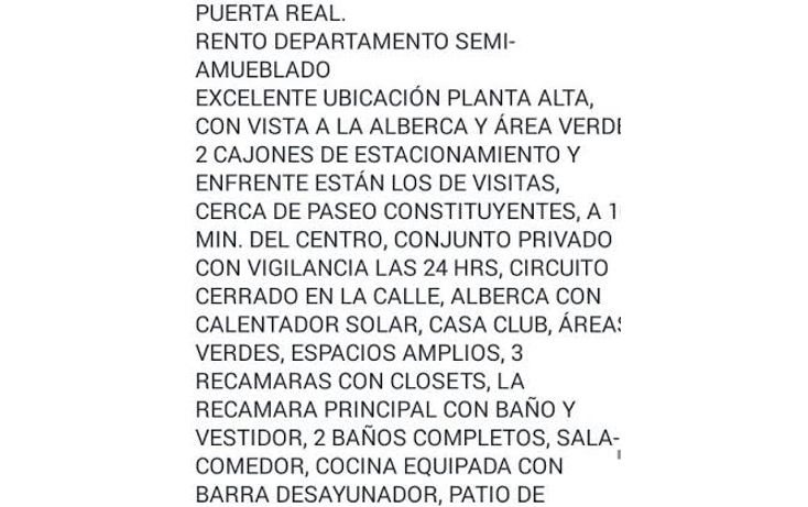Foto de departamento en renta en, puerta real, corregidora, querétaro, 1999230 no 17