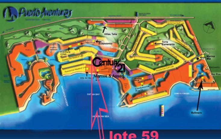 Foto de terreno habitacional en venta en  , puerto aventuras, solidaridad, quintana roo, 1047951 No. 04