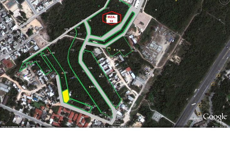 Foto de terreno habitacional en venta en  , puerto aventuras, solidaridad, quintana roo, 1123327 No. 01